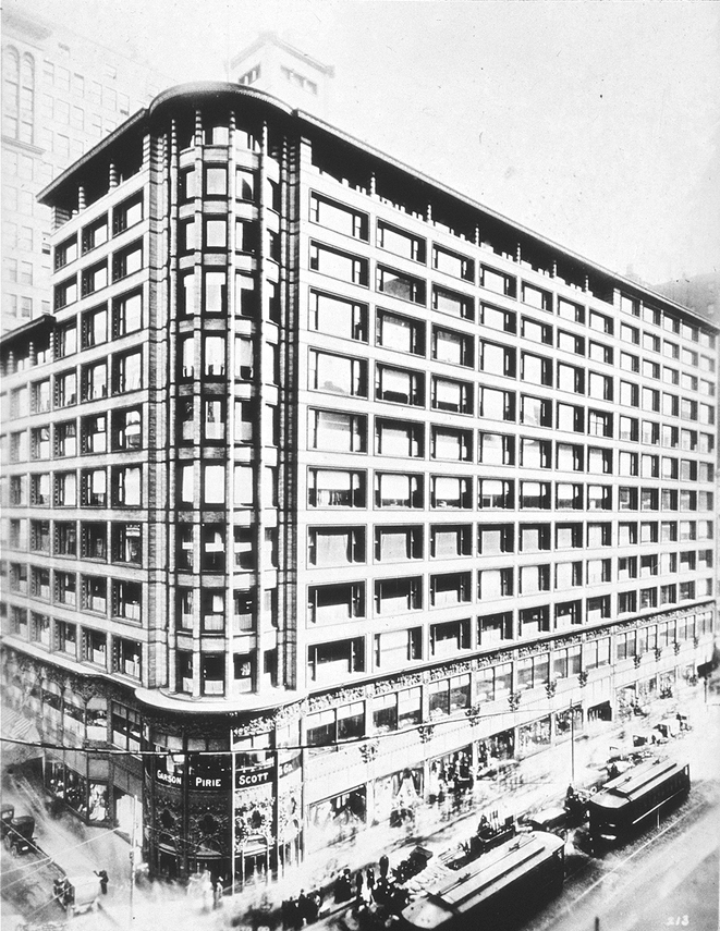 Carson Pirie Scott building, Chicago, Illinois - Louis_Sullivan