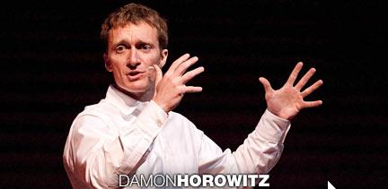 Damon Horowitz speaking at TED